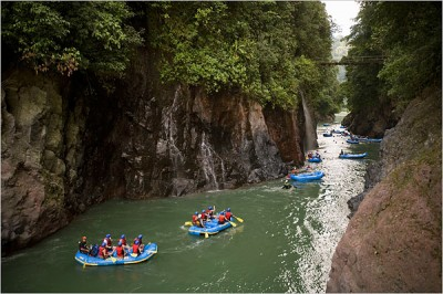 Pacuare River or Reventazon 1 Day Rafting (San Jose-Puerto Viejo-Arenal Adventure Connection)