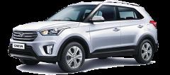 ADOBE car rental Hyundai Creta 2WD AT with Basic Insurance  (High Season )