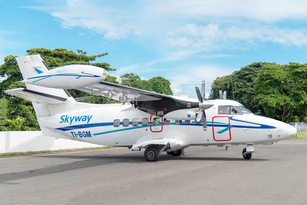 SkyWay Flight from  San Jose to Bocas Del Toro