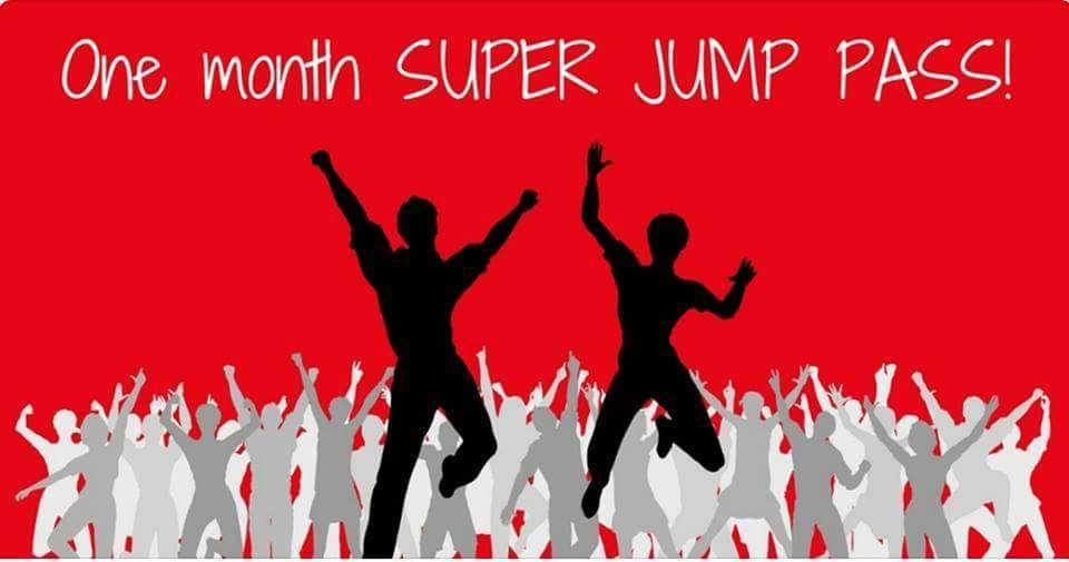 One month SUPER JUMP PASS