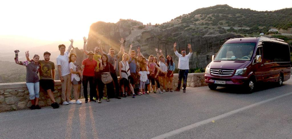 Train to Train Meteora Tour