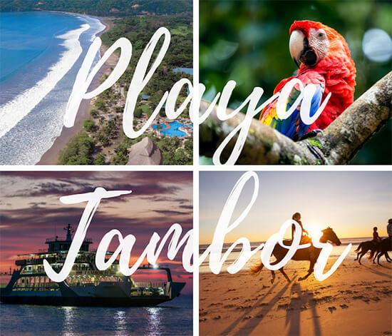 San Jose Hotels to Tambor Beach