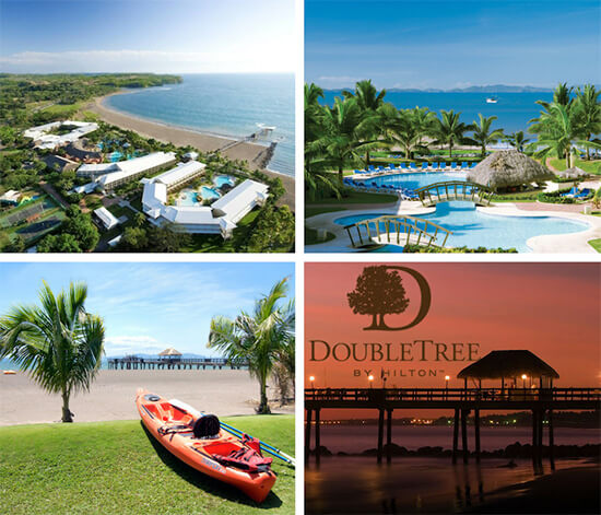 Guiones to DoubleTree Resort at Puntarenas