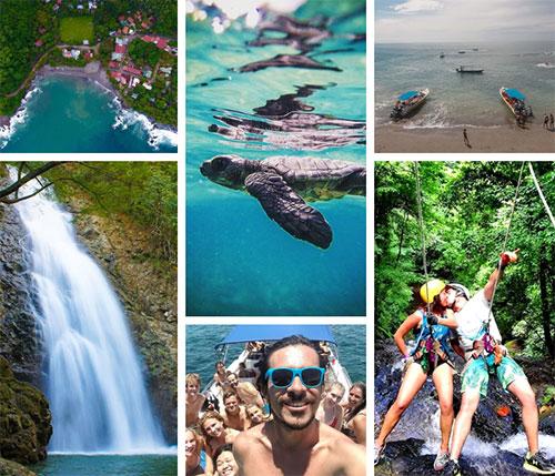 Playas del Coco to Montezuma - Private VIP Shuttle Service