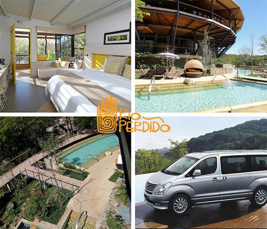 Playa Hermosa Guanacaste to Rio Perdido Private VIP Shuttle Service