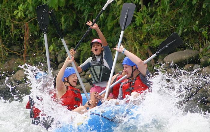 Adventure Connections: Rafting Rio Balsa Class 2-3 + La Fortuna to Quepos