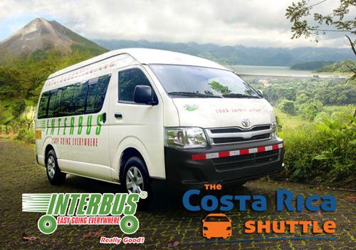 Arenal to Parrita - Shared Shuttle Transportation
