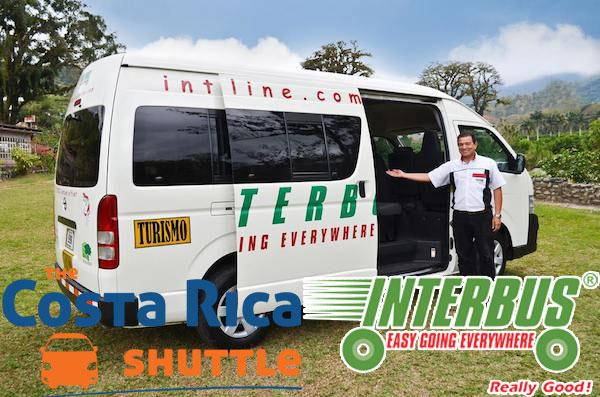 Santa Teresa a Hoteles en Liberia Transporte Colectivo
