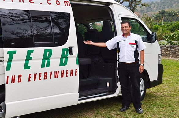 Santa TeresatoCaldera - Private VIP Shuttle Service