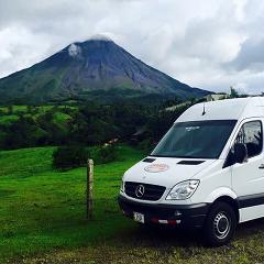 La Fortuna to Alajuela - Shared Shuttle