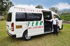 San Jose Airport to Cahuita - Shared Shuttle Transportation