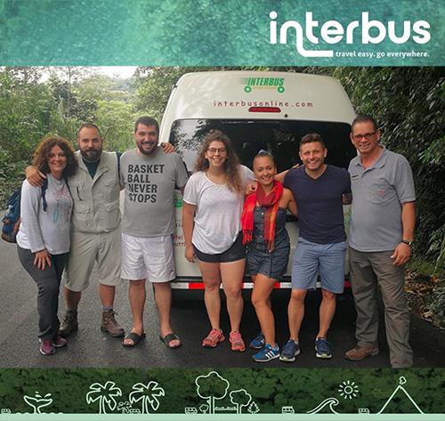 Punta Islita to Rincon de la Vieja - Shuttle Bus Transportation Services