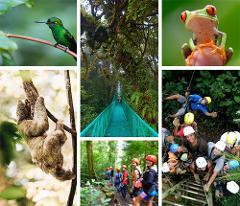 Manuel Antonio Quepos to Monteverde - Afternoon Shared Shuttle