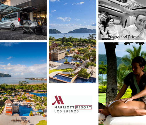 Playa Hermosa Guanacaste to Los Suenos Marriott - Private VIP Shuttle Service