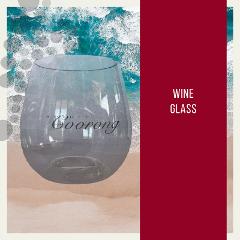 Souvenir Wine Glass