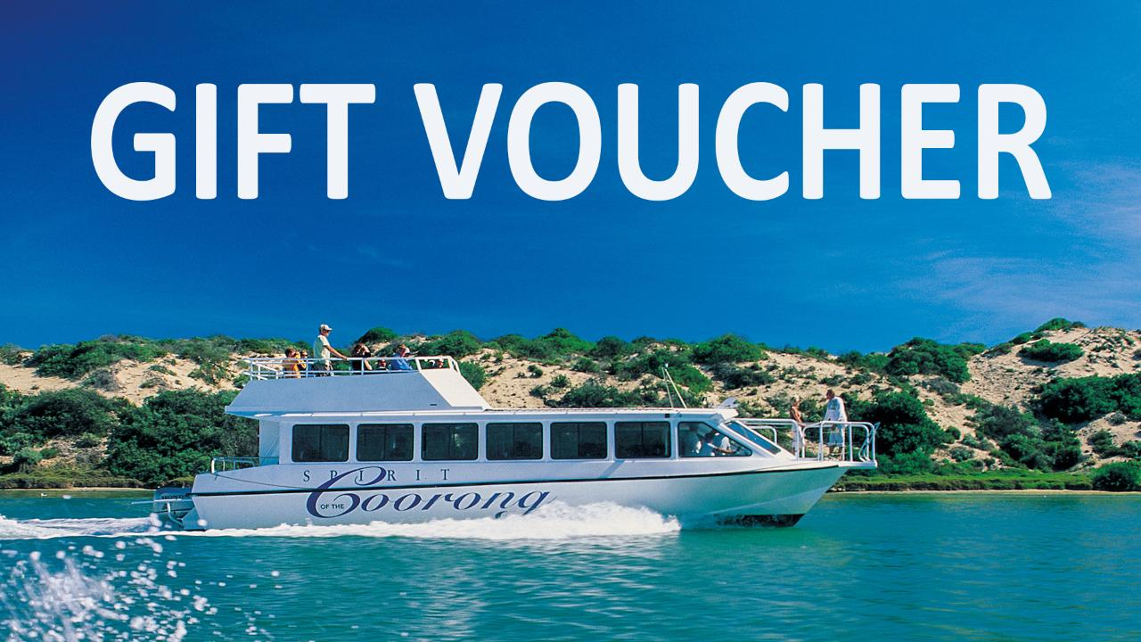 GIFT VOUCHER for Murray Mouth Cruise