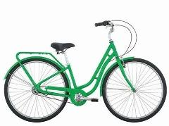 A Beautiful Green Bike (Cruiser)