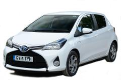 Economy Car Rental - Toyota Yaris or Similar