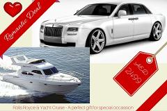Limo Yacht Romantic Deal - 2 Pax