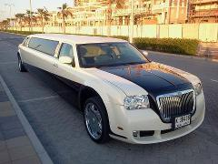 Chrysler 8 Pax Stretch Limo - AUH - DXB