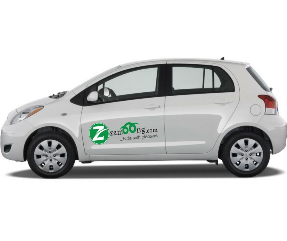 Branded Car Rental - Toyota Yaris or Similar