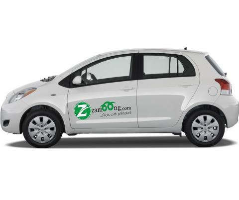 Branded Car Rental - Toyota Yaris or Similar