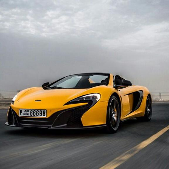 mclaren 650s - connection chauffeur reservations