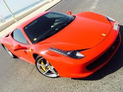 Ferrari 458 Italia Hourly Rental - Buy as Gift Voucher