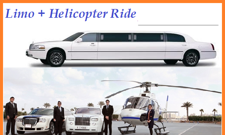 Limo + 25 Minutes Helicopter - 2 Pax Deal