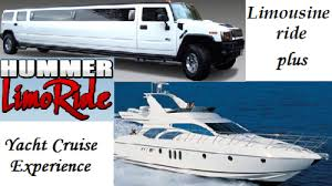 Limo & Yacht Deal for 14 Pax