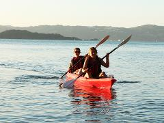 Double Kayak Hire 30 mins @ The Boatshed - Days Bay