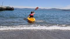 Single Kayak Hire 1 hour @ The Boatshed - Days Bay
