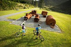 Remutaka Cycle Trail Highlights with two nights in Martinborough eBike Tour (3 Day / 2 Night)