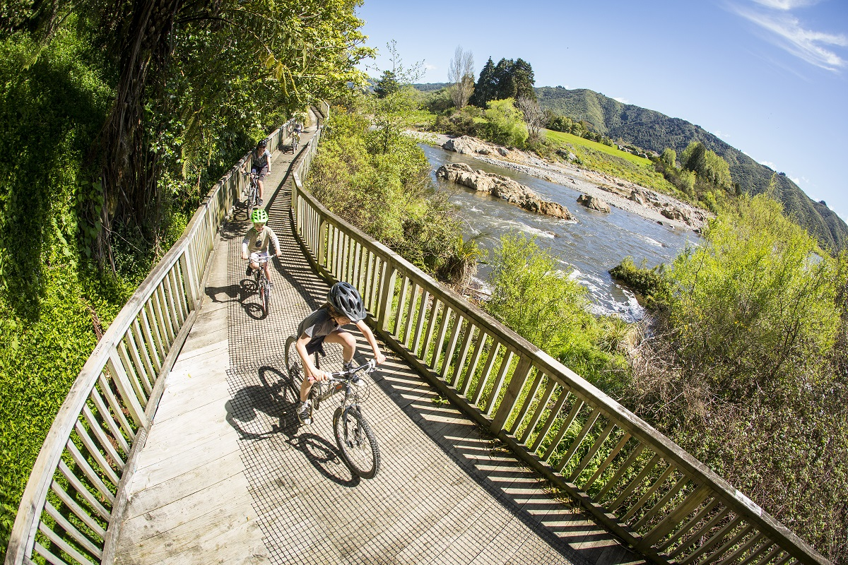 Comfort Mountain Bike Hire @ Petone Wharf (Start of Hutt River Trail)