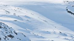 Ski touring Riksgränsen(3643-623)