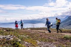 BAMM transfer Kiruna - Riksgränsen 16 augusti (3643-360)