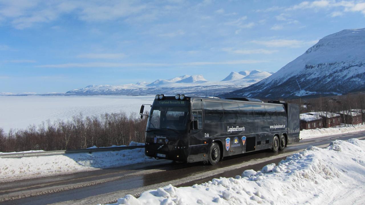 Skidtransfer Björkliden - Riksgränsen 08:15 (3643-360)