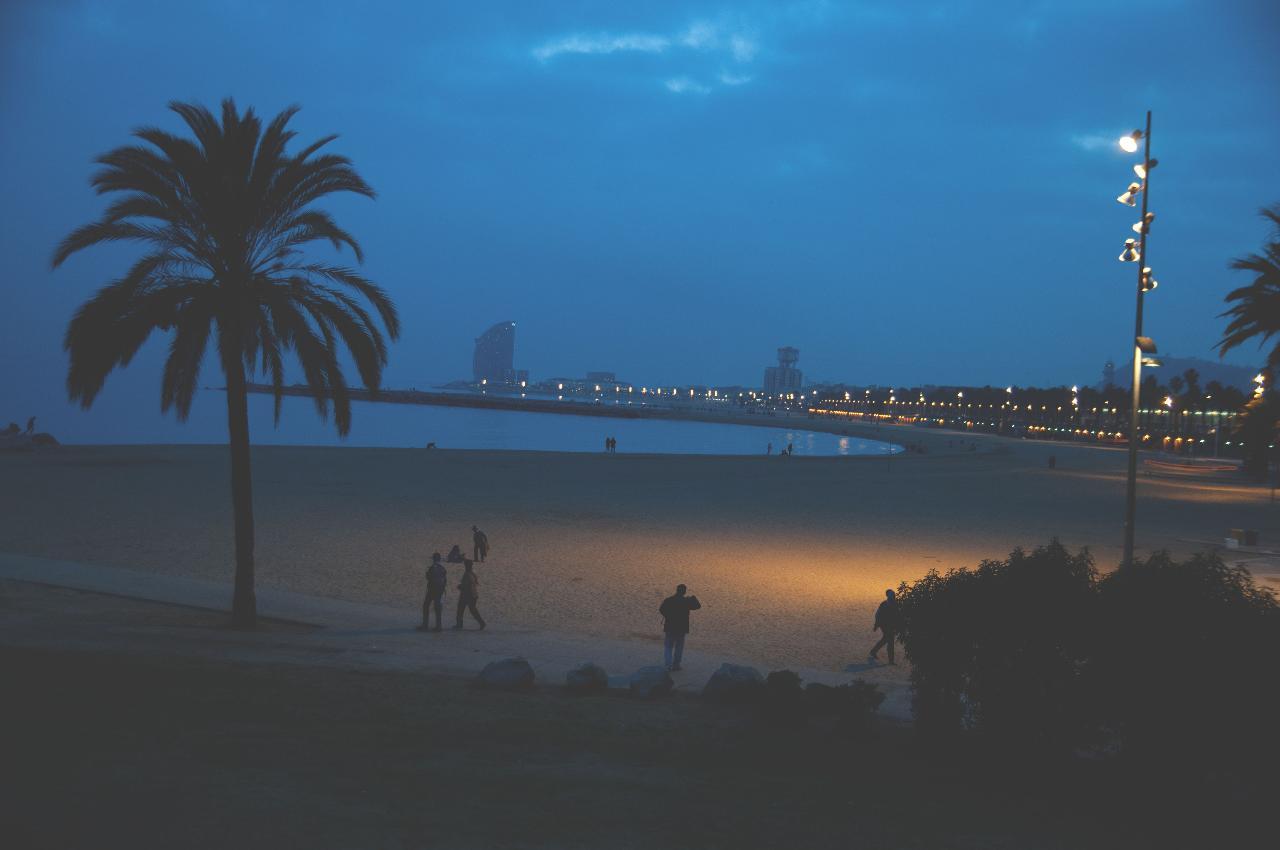 Barcelona by night eBike tour