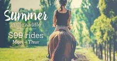 Summer Ride - 2 Hour Horseback Winery  Tour