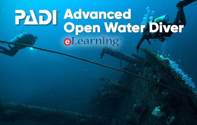 PADI Advanced Open Water eLearning Access Code