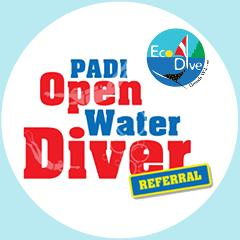 PADI Open Water Diver Referral Course