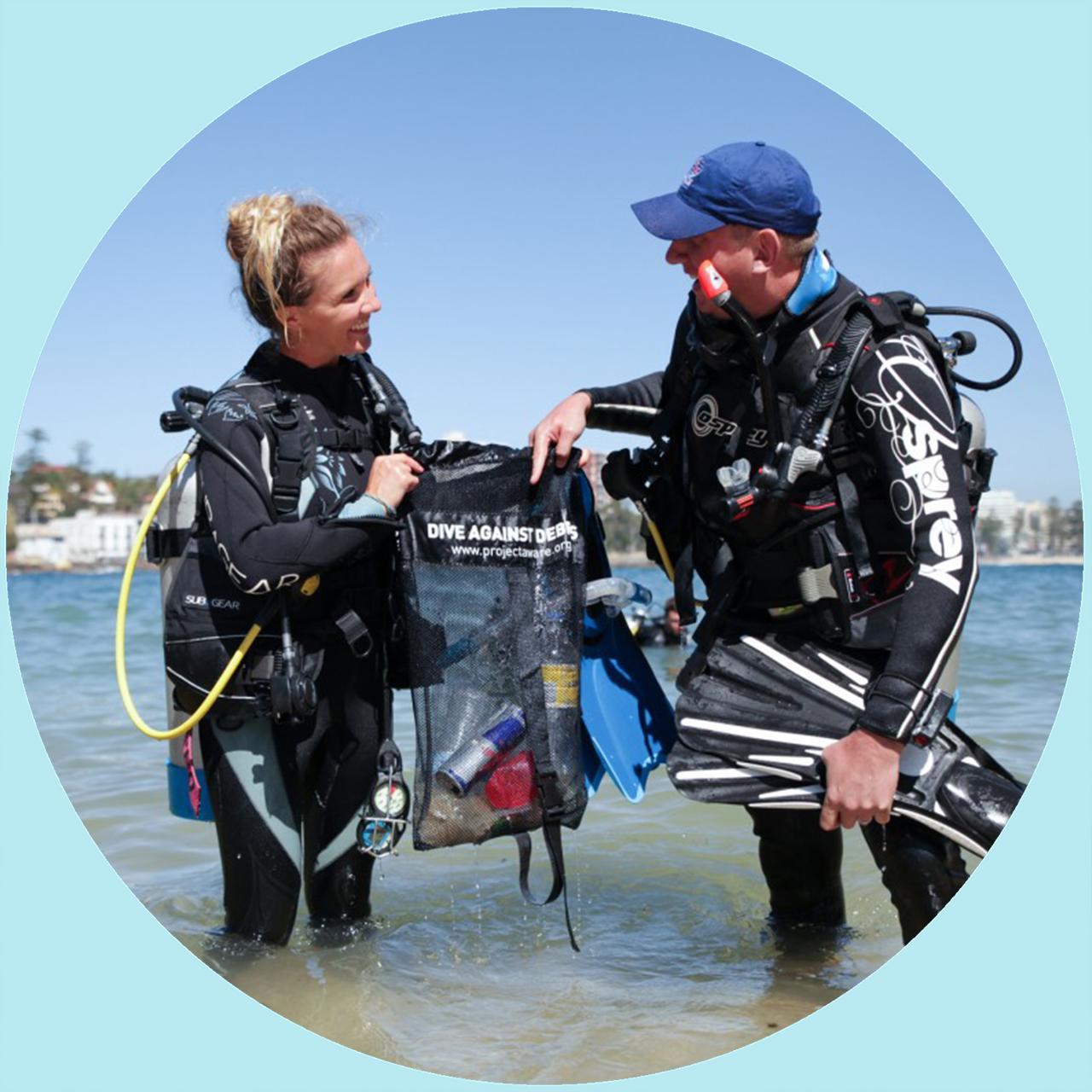 AWARE Dive Against Debris Specialist