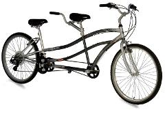WEEKDAY SELF-GUIDED BICYCLE TOUR TANDEM BIKE