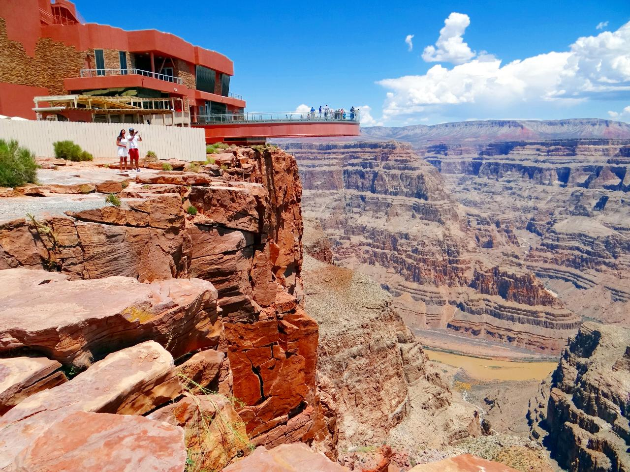 GC - West Rim Bus + Helicopter & Boat Ride (Use)