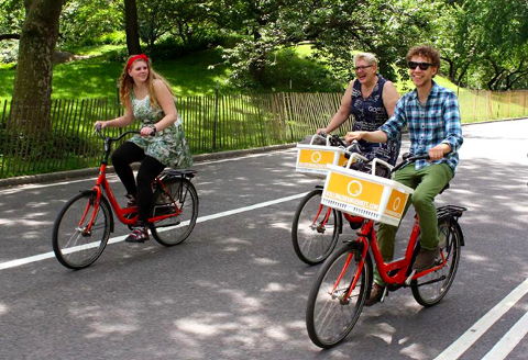 Central Park Bike Tour (Dutch)