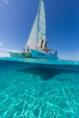 Corals Cats Sailing, Day sail Snorkel Cruise.