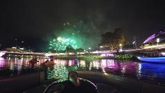 NYE 2018 Main Firework cruise for max 8 people   2 hrs 10.30pm-12.30am