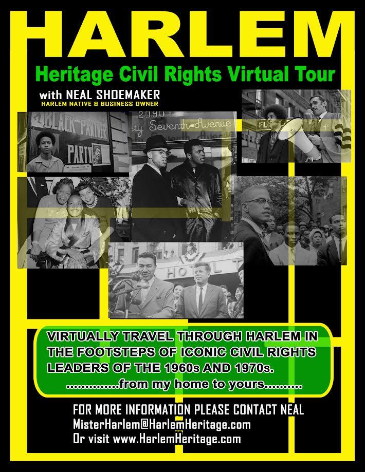 Harlem Heritage Civil Rights Virtual Tour