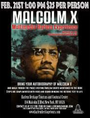 Malcolm X Multimedia Harlem Walk