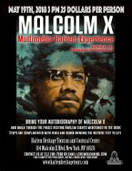 Malcolm X Multimedia Harlem Tour